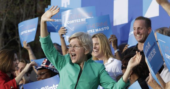 Warren returns to Nevada, heart of 2008 economic crisis