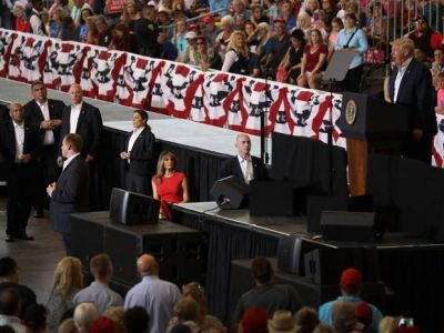 'Demonic activity palpable' at President Trump's Florida rally, pastor who brought his daughter says