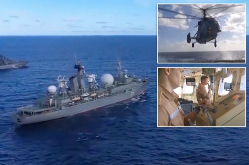 Russia Conducts Largest Navy Exercise Since Cold War As Joe Biden and Vladimir Putin Meet