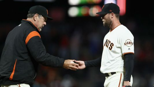 Hunter Strickland apologizes for 'stupid decision' that broke his hand