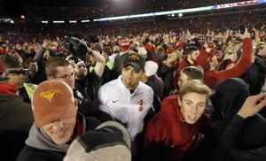 Iowa State to appeal $25K Big 12 fine for field storming