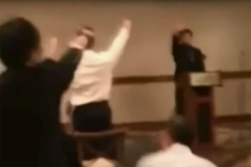 California high school students caught giving Nazi salute in video