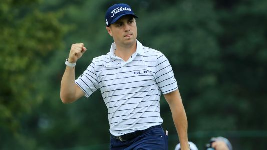 BMW Championship: Justin Thomas leads after setting new course record at Medinah