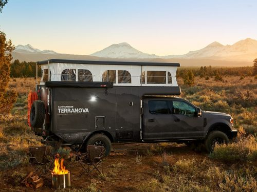 Earthcruiser unveils $289,000 off-road RV built on a pickup truck after seeing skyrocketing demand during the pandemic - see inside
