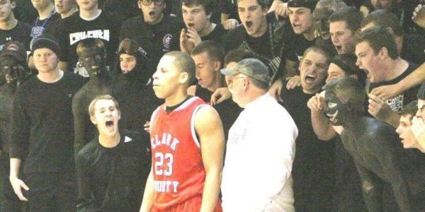 People have accused Covington Catholic students of wearing blackface at a 2012 basketball game, but alumni say it was an innocent 'blackout' cheer theme