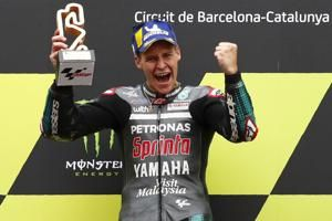 Quartararo wins in Spain to regain MotoGP points lead