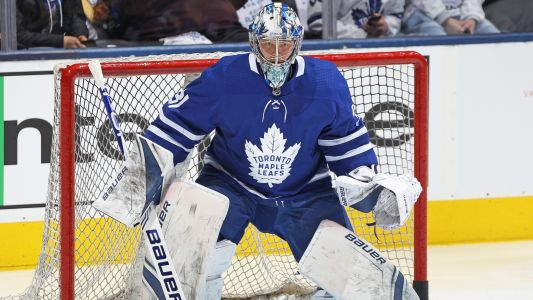 NHL Playoffs 2019: Frederik Andersen keeps Leafs in game with unbelievable glove save