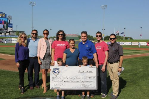 Omaha Storm Chasers organization sets all-time charitable giving record