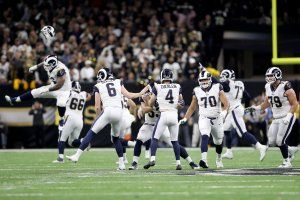 Rams kick 57-yard field goal in overtime to beat Saints for trip to Super Bowl