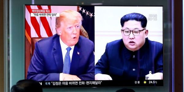 Trump-Kim summit looks to be back on track with US and North Korean officials meeting in the DMZ