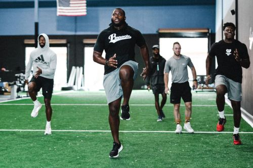 Giants turned Atlanta training facility into unofficial home