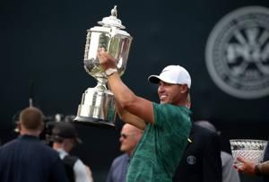 It's getting harder to overlook Brooks Koepka, who stared down the field to win PGA Championship