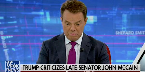 'The president is fighting with a dead guy again': Fox News host flabbergasted by Trump's latest attacks on John McCain