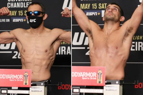 UFC 262 video: Tony Ferguson, Beneil Dariush respectfully face off