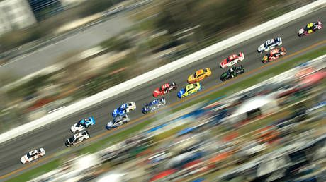 'The big one': WATCH huge crash at Daytona 500 take out HALF the racers