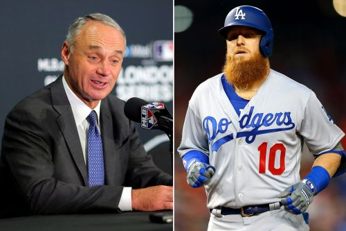 Dodgers star Justin Turner: Rob Manfred just showed how clueless he is