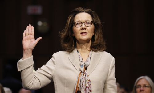 Trump to attend swearing-in of CIA's 1st female director