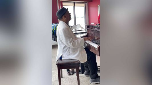 An airport piano player earned thousands in tips after stranger shared videos of him on Instagram