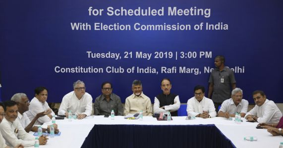 India's Election Commission rejects ballot tampering claims