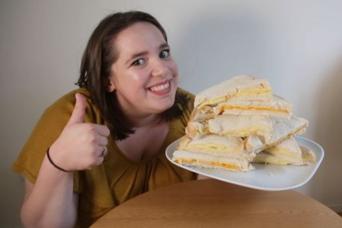 Woman survives on cheese sandwiches her whole life