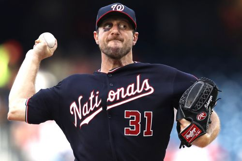 Broken nose and black eye can't stop Nationals' Max Scherzer
