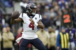 Texans host Colts on Thursday night for AFC South lead