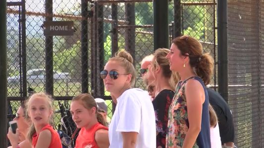 Parents caught on camera breaking out into brawl at youth softball tournament