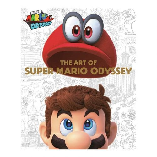 Pre-order the hardcover Art of Super Mario Odyssey book at a $12 discount