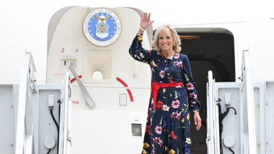 First Lady Jill Biden Undergoes Successful Procedure To Remove Debris From Her Foot