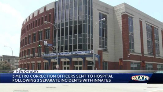 Louisville Department of Corrections staff injured in confrontations with inmates
