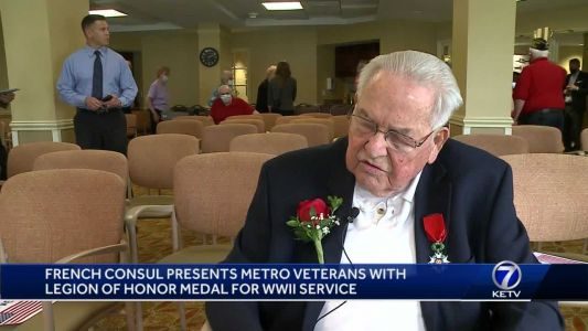 Veterans presented with legion medal of honor for World War II service