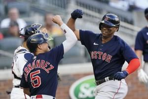 Verdugo, Devers power Red Sox past Braves in 10-8 win