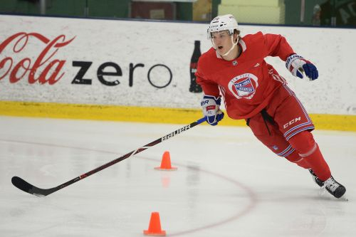 Another Rangers first-rounder skates circles around Kakko, other prospects