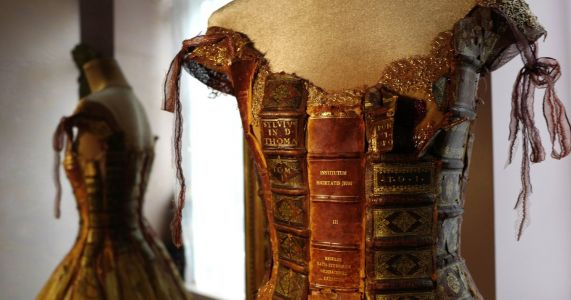 Sunday Best: A strangely beautiful dress made from books
