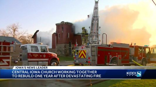 Central Iowa church needs $60,000 to finish rebuild after devastating fire