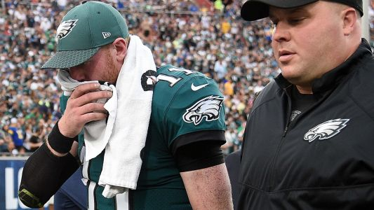 Carson Wentz injury update: Eagles fear QB out for season with torn ACL, reports say