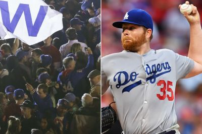 'F-king classy' Cubs fans threw beer at Dodgers families: pitcher