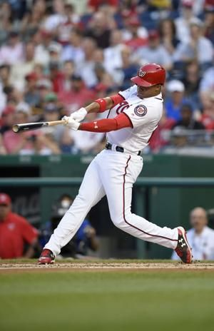 Soto, 19, hits 3-run HR in 1st start as Nats top Padres 10-2