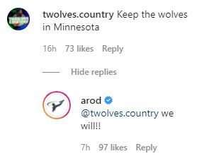 On Instagram, Alex Rodriguez Says New Owners Will Keep Timberwolves In Minnesota