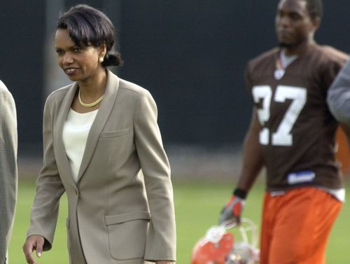 Browns reportedly want to interview Condoleezza Rice to be head coach and it may not be as crazy as it sounds
