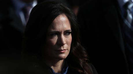 White House press secretary Grisham leaves post. without ever having held a briefing