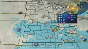Get Your Shovels Ready: We're In For A Snowy Weekend