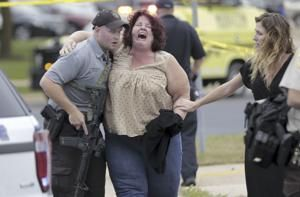 Photos: Gunman shoots 4 at workplace in Middleton