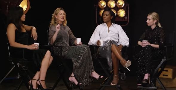 'Grey's Anatomy' star Ellen Pompeo interrupts an interview to criticize the lack of diversity: 'I don't see enough color'