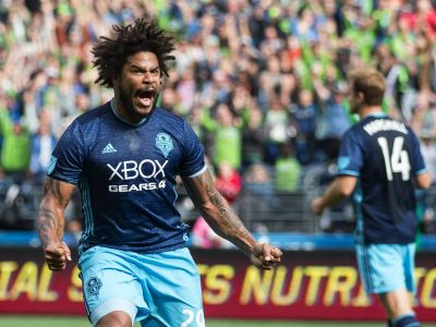 Are the Sounders putting on a sporting event, or a live infomercial for Xbox?