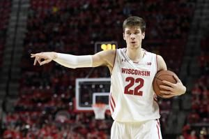 Fancy footwork: Big man Ethan Happ paces No. 25 Wisconsin