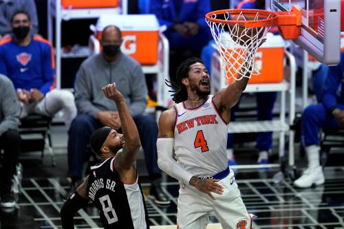 Derrick Rose carries Knicks to sensational win over Clippers