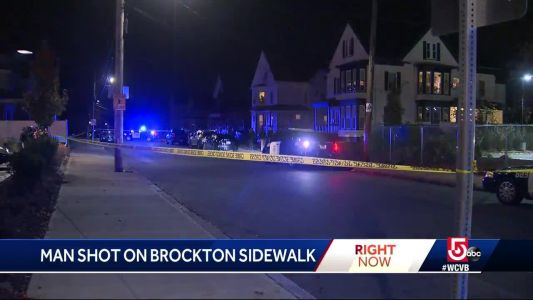 Police search for assailant in Brockton shooting