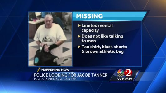 Police search for missing man last seen at Halifax Health Medical Center