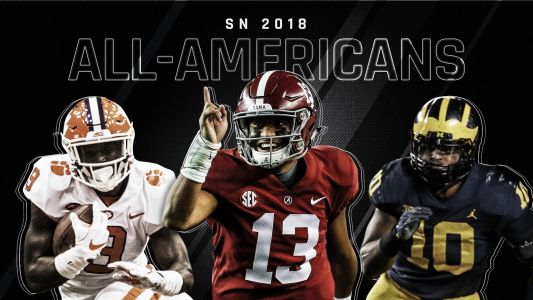 Sporting News 2018 college football All-Americans